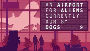 An Airport for Aliens Currently Run by Dogs Tabla de Traducción