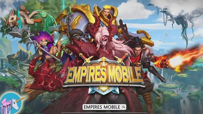 Empires Mobile - Lista de Códigos Julio 2021