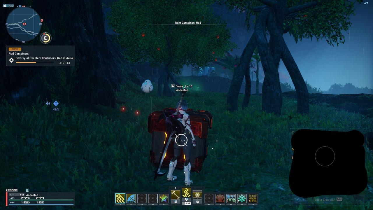 Phantasy Star Online 2 Nuevas ubicaciones de Genesis Red Crate