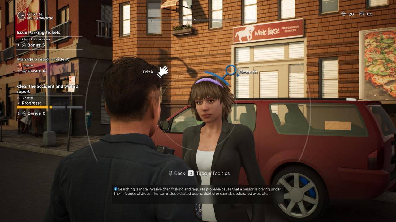Police Simulator: Guía de accidentes de tráfico de oficiales de patrulla