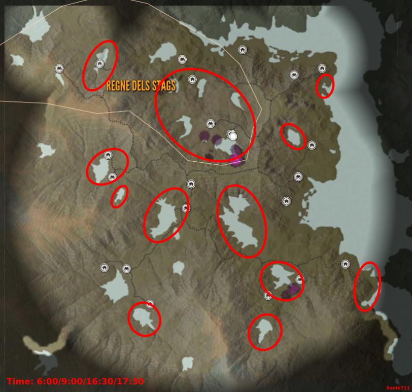 theHunter: Call of the Wild Mejores lugares de caza (diamantes y dinero rápido)