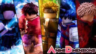 Roblox Anime Dimensions - Lista de Códigos Julio 2021