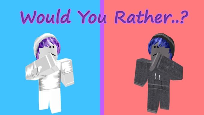 Roblox Would You Rather 2 - Lista de Códigos Julio 2021