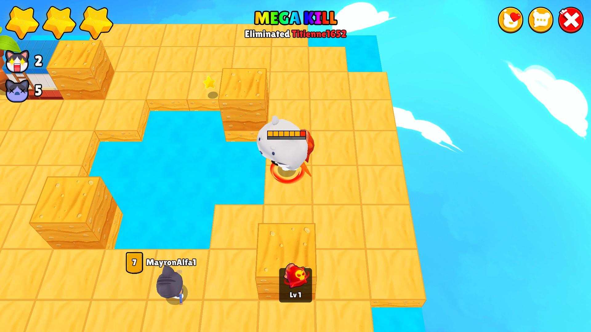 Bombergrounds: Battle Royale La estrategia de Bomber Grounds Battle Royale