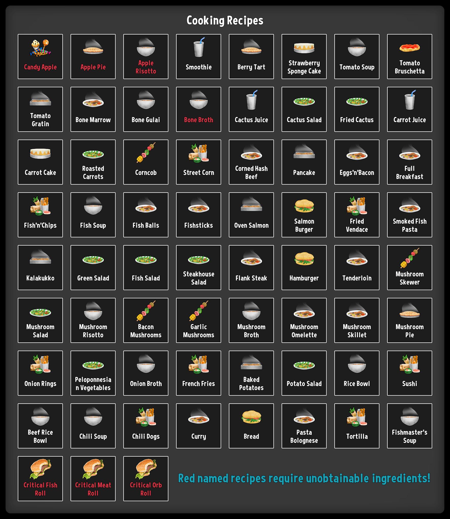 DYSMANTLE - Todas las recetas de cocina [Actualizado a 0.7.1] 1