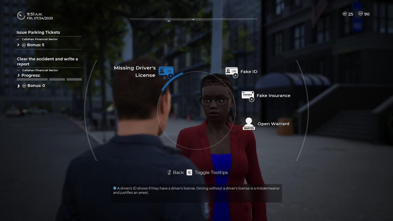 Simulador de policía: agentes de patrulla Cómo comprobar las identificaciones (diferencia, falso, caducado)