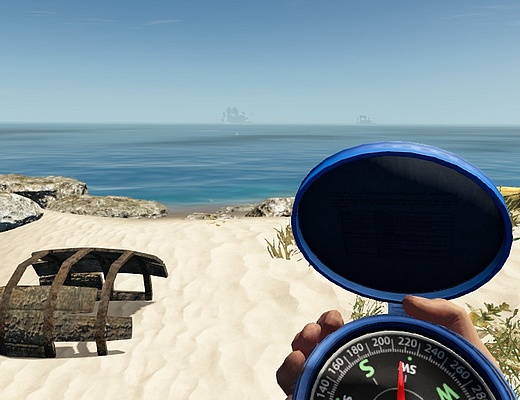 Stranded Deep - Using The Compass - Orientation And Navigation