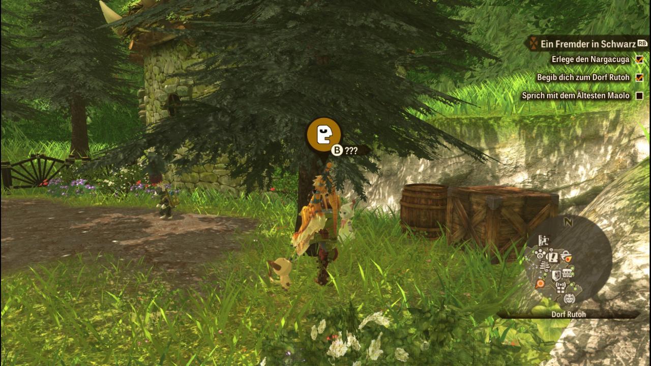 Monster Hunter Stories 2: Alas de ruinas escondidas para Tsukino