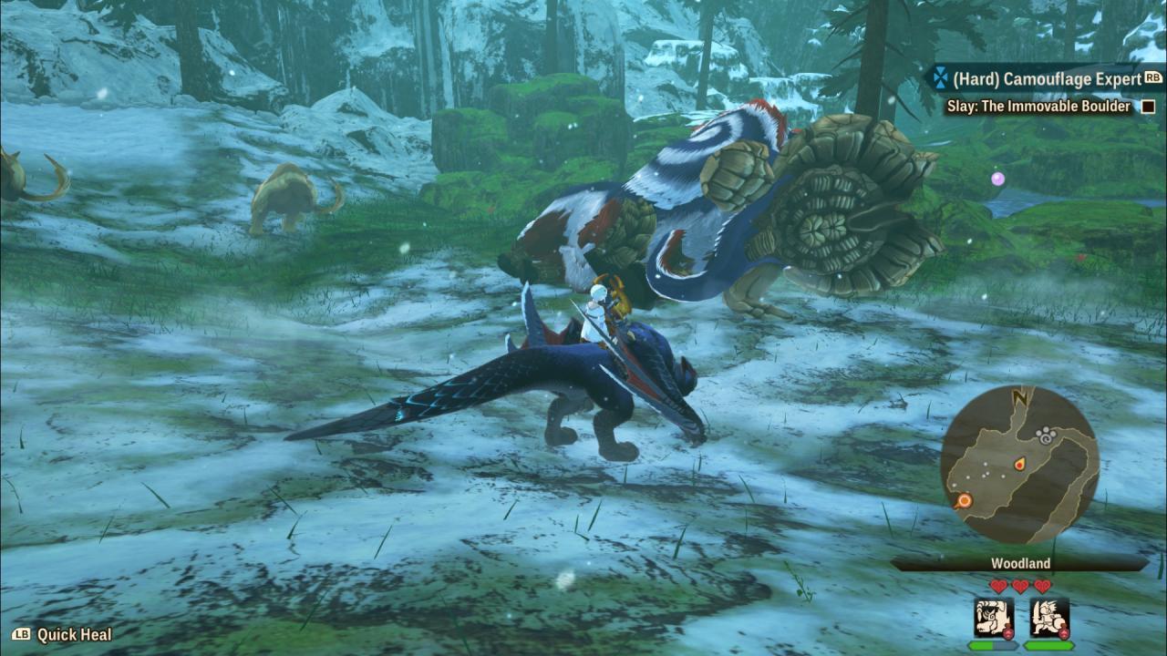 Monster Hunter Stories 2: Wings of Ruin Royal Monsters Ubicaciones, debilidades y potenciadores