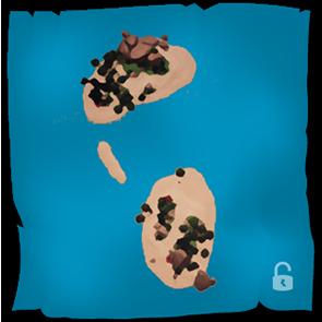 Sea of Thieves - Todos los mapas de las islas