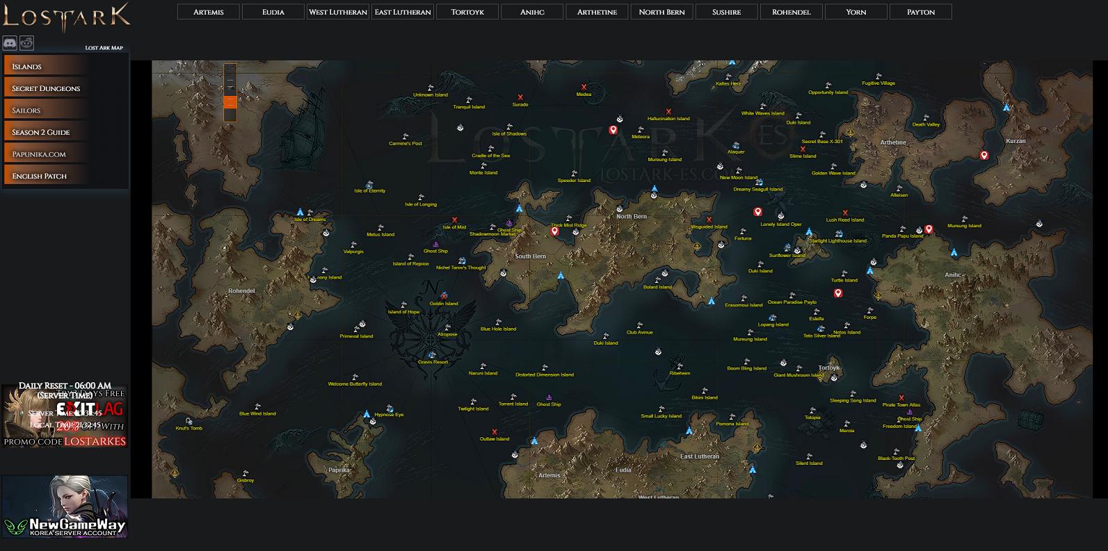 Lost Ark Closed Technical Alpha - Guía para principiantes - Mecánica del juego - Guía de herramientas