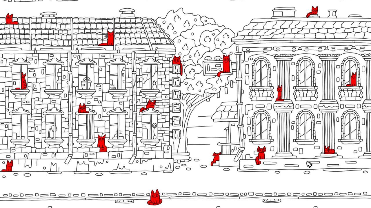 100 скрытых кошек 2 локации из 100 скрытых кошек