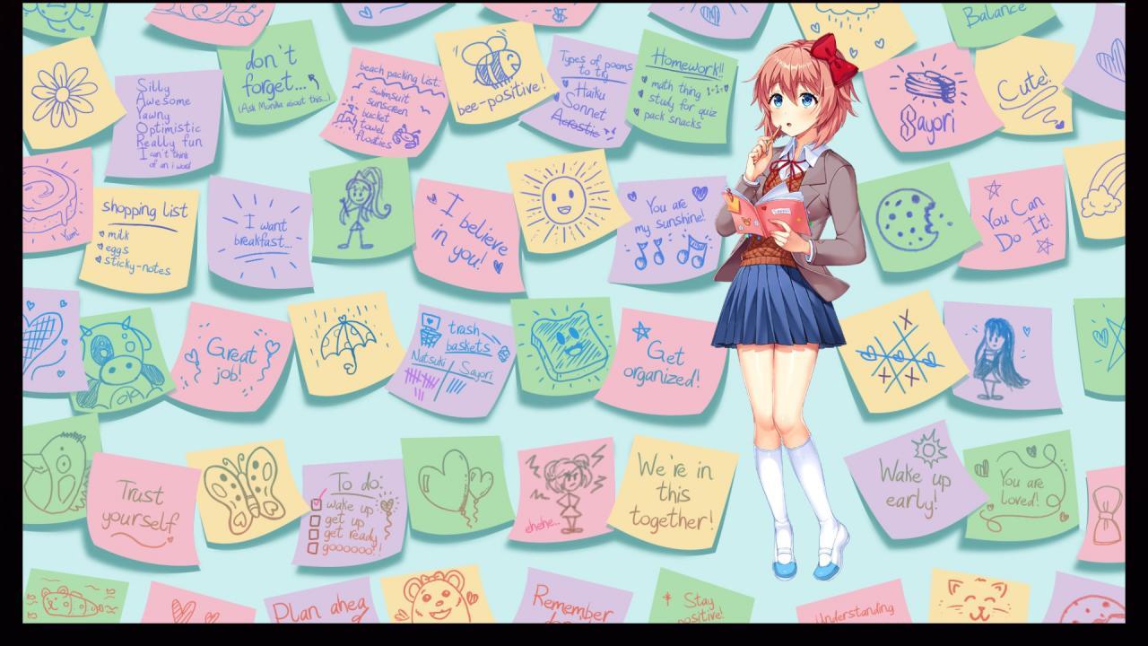 ¡Club de literatura Doki Doki Plus!  Guía detallada de la historia del personaje