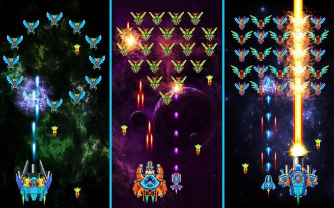 Galaxy Attack Alien Shooter Códigos Julio 2021