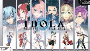Idola Phantasy Star Saga Codes October 2021