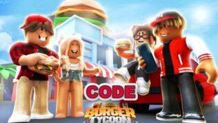 Roblox Burger Tycoon Códigos Septiembre 2021