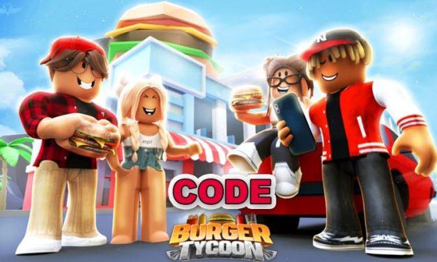 Roblox Burger Tycoon Códigos Octubre 2021