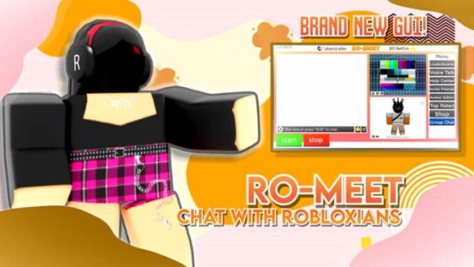 Roblox Ro-Meet - Lista de Códigos Julio 2021