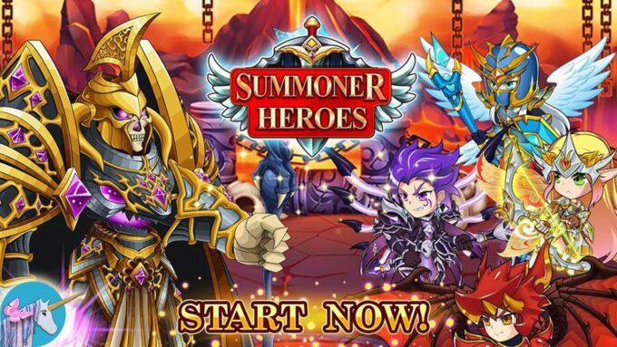 Summoner Heroes 2021년 XNUMX월 코드