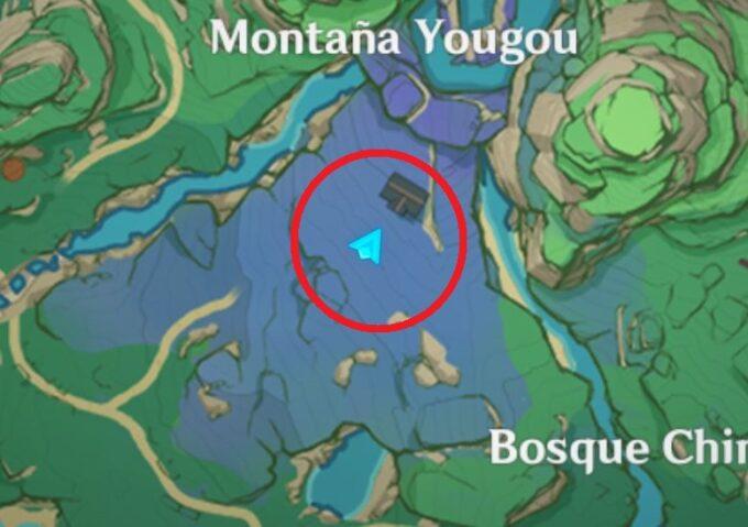 заброшенная карта святилища
