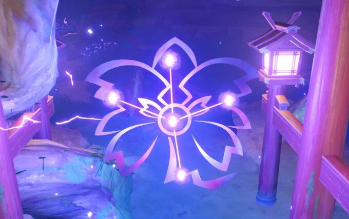 Genshin Impact - Buscar la Barrera y Resolver el Puzle del Santuario Abandonado