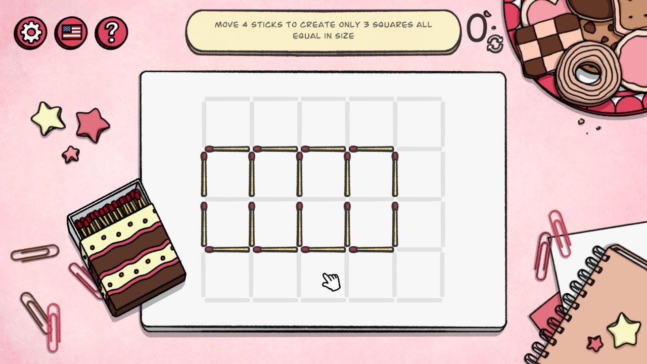 Matchsticks - Guía completa de soluciones para Coffee Break Club