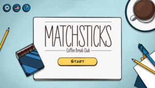 Matchsticks – Coffee Break Club - Komplett guide til løsninger