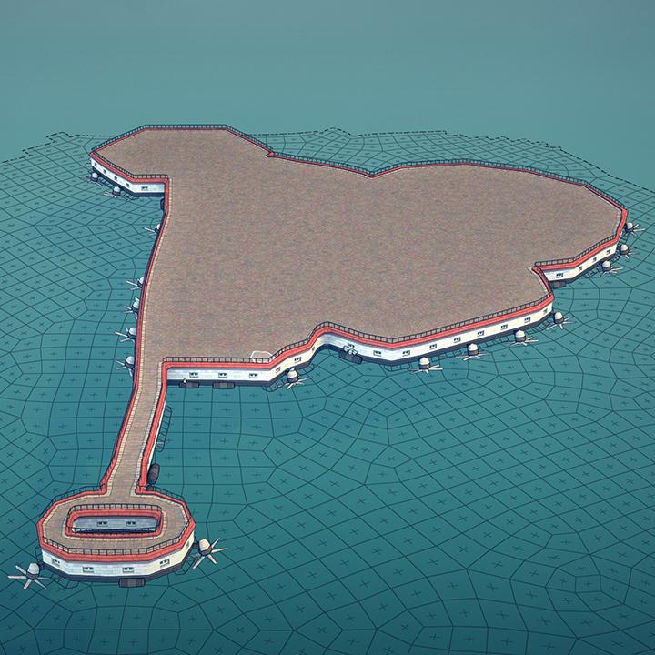 Townscaper Cómo hacer ciudades flotantes