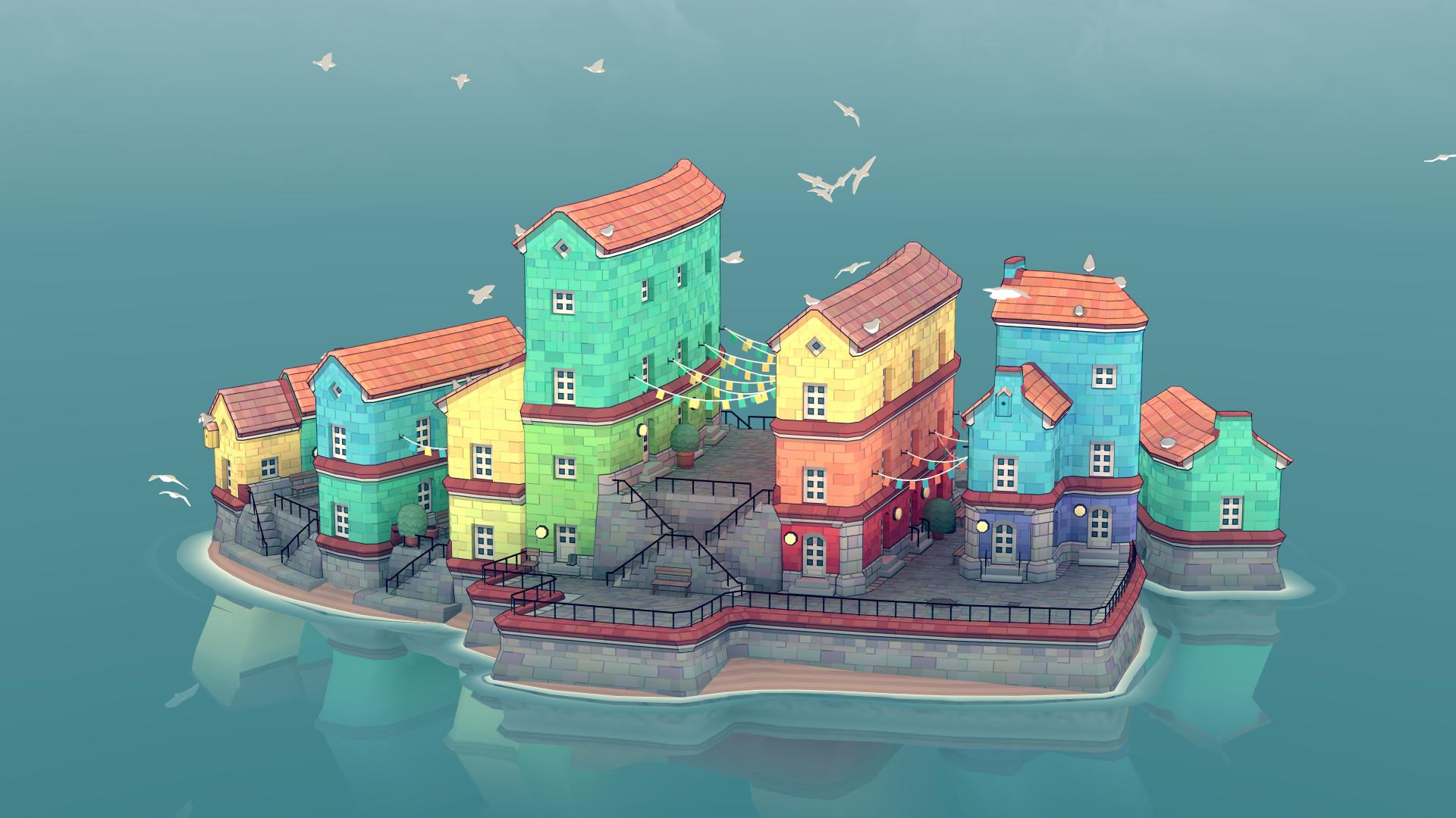 Townscaper - Cómo Hacer Ciudades Flotantes