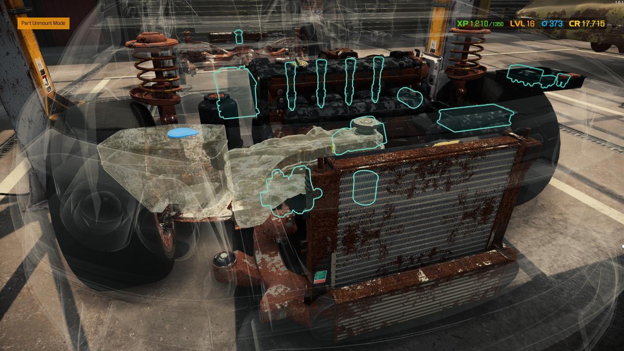Car Mechanic Simulator 2021 Story Order RM's Yellow Kagura SX