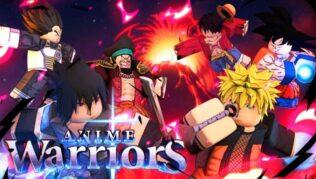 Roblox Anime Warriors Códigos Septiembre 2021