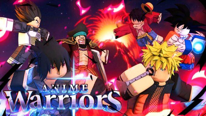 Roblox Anime Warriors Códigos Octubre 2021