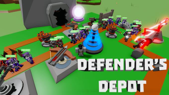 Roblox Defender's Depot Códigos Septiembre 2021