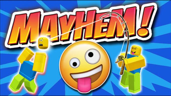 Roblox Mayhem Códigos Septiembre 2021