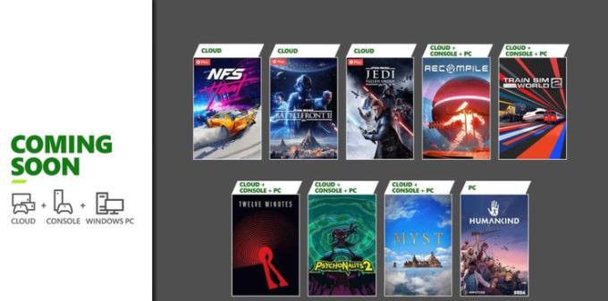 Estos son los juegos que entrarán en Xbox Game Pass en agosto