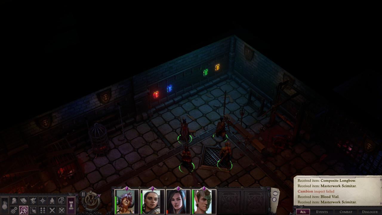 Pathfinder: Wrath of the Righteous - Solución del Puzzle del Laberinto del Escudo 2