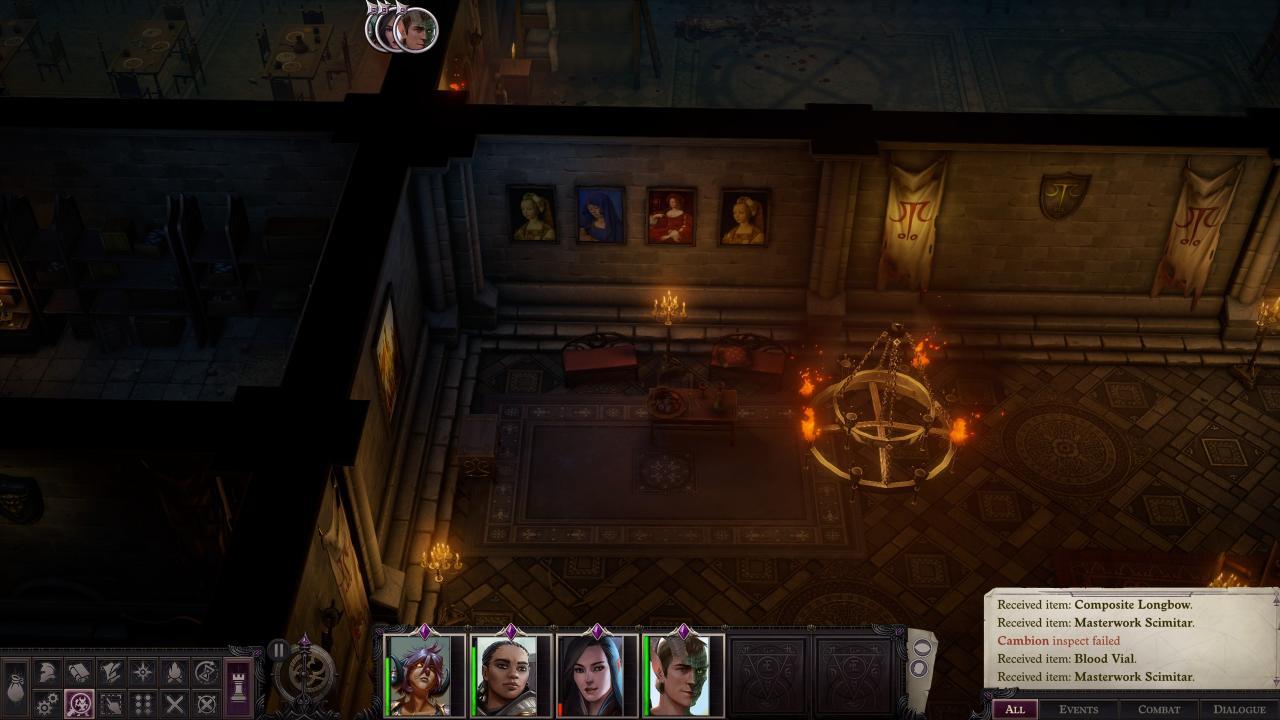 Pathfinder: Wrath of the Righteous - Solución del Puzzle del Laberinto del Escudo 3