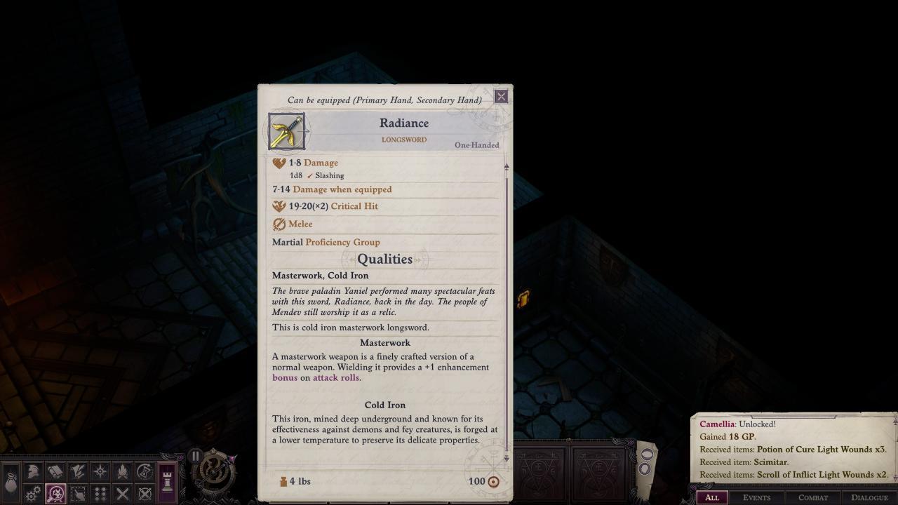 Pathfinder: Wrath of the Righteous - Solución del Puzzle del Laberinto del Escudo 4
