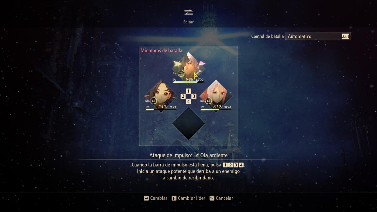 1631439486 965 Tales of Arise How to Setup Combat Character