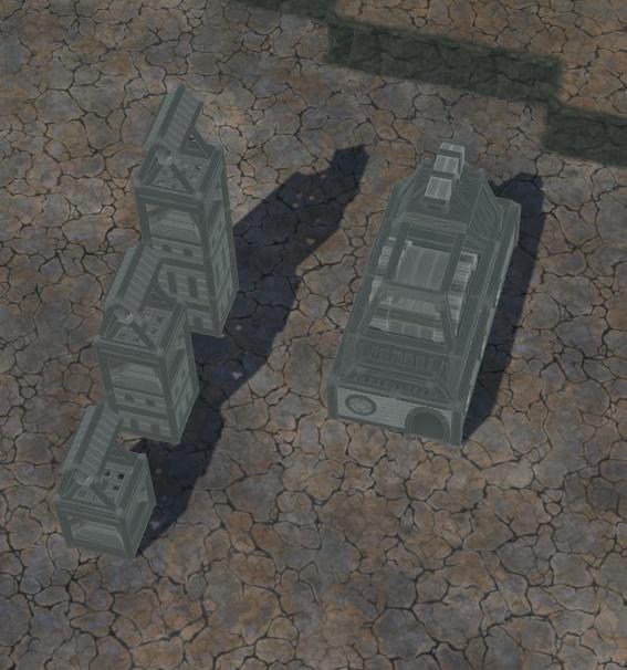 Timberborn - Byggestørrelser og former 3
