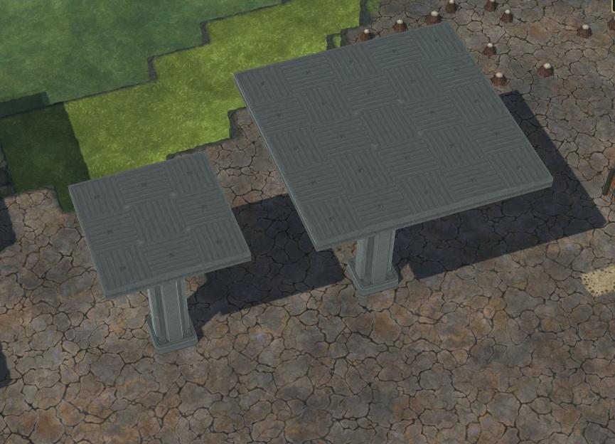Timberborn - Byggestørrelser og former 2