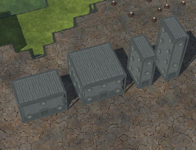 Timberborn - Byggestørrelser og former 7