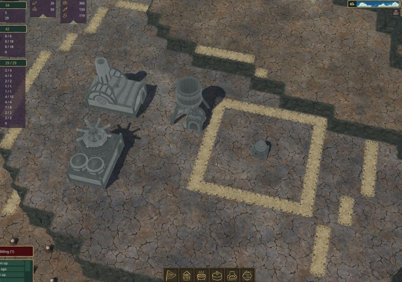 Timberborn - Byggestørrelser og former 9