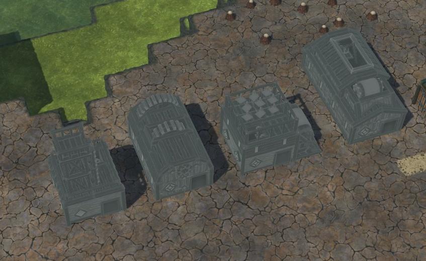 Timberborn - Byggestørrelser og former 10