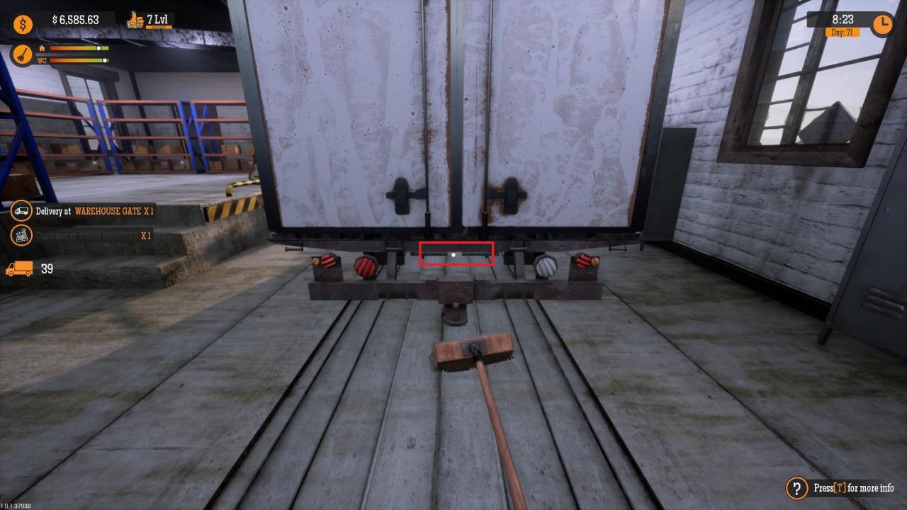 Gas Station Simulator - Cómo Solucionar Problemas con la Escoba 2