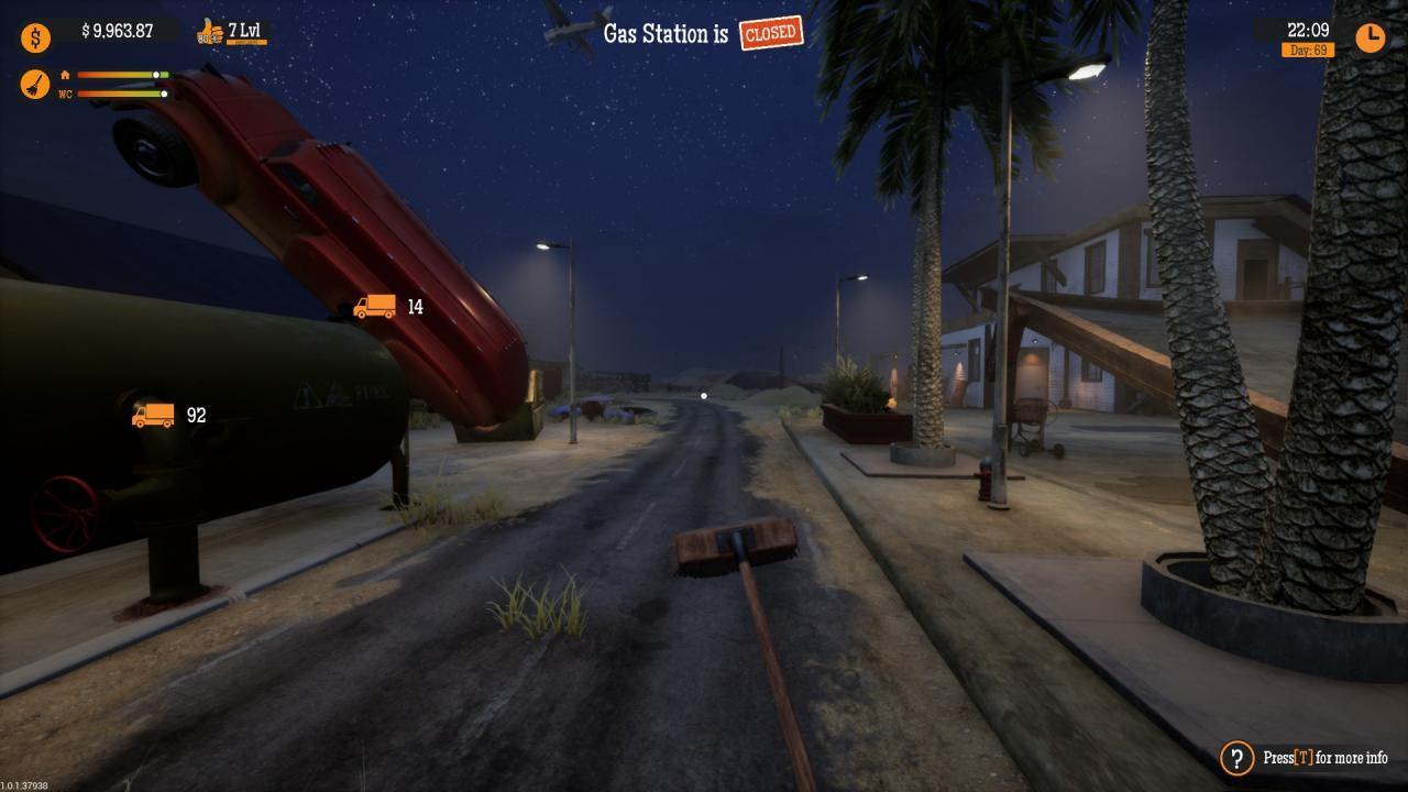 Gas Station Simulator - Cómo Solucionar Problemas con la Escoba 5