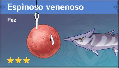 Cebo para pez Espinoso de Genshin Impact