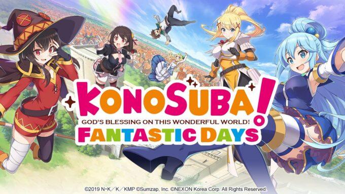 KonoSuba Fantastic Days Códigos Octubre 2021