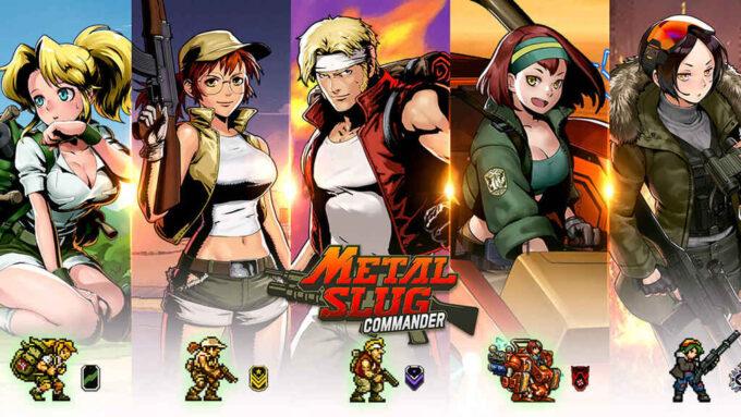 Metal Slug Commander Códigos Septiembre 2021