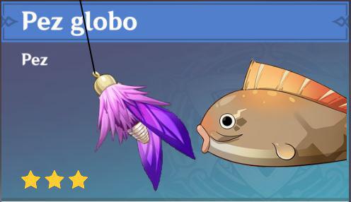 Cebo para pez Globo de Genshin Impact